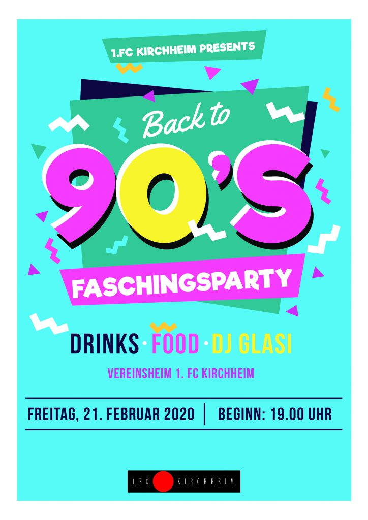 90s Faschingsparty