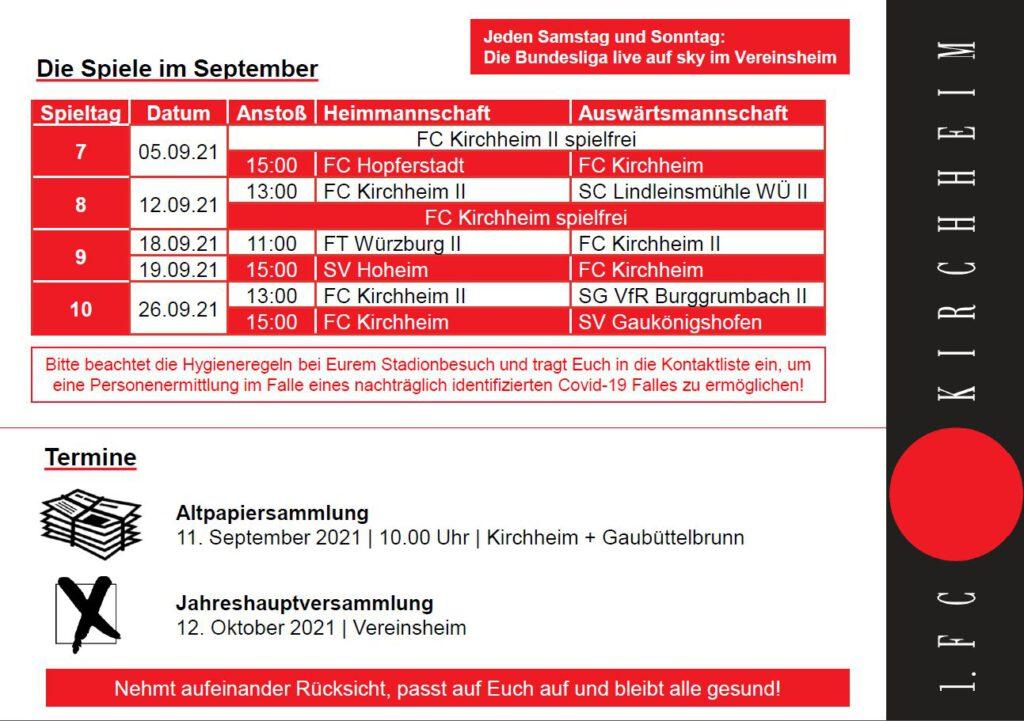 FC-Highlights September